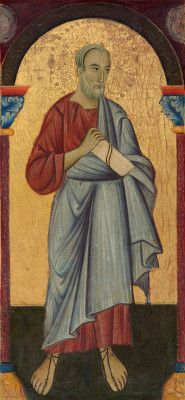 St John the Evangelist by The Master of St Francis, painted c. National Gallery of Art, Washington DC, USA. Samuel H. Religious Icons, Religious Art, A4 Poster, Poster Prints, St John The Evangelist, Saint Jean, National Gallery Of Art, St Francis, Classic Image
