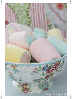 Greengate & #pastel marshmallows