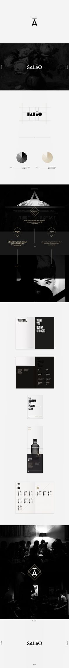 Bar Salao by Meme. , via Behance