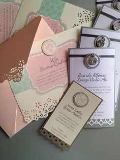 Baby's handmade favors and invitations design by paperworks