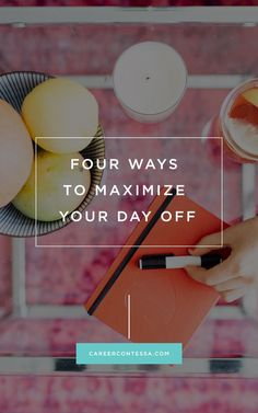 You work so hard all year, and on what feels like the rare occasion you do get a day off, don't squander it. Use it to get ahead. | CareerContessa.com