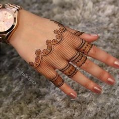 We bring you this curated list of new and trendy arabic mehendi designs that is sure to brim you with inspiration. These latest mehndi patterns are sure to make you grab all the attention at any event you attend so, be ready to stay in the spotlight. Henna Hand Designs, Dulhan Mehndi Designs, Latest Arabic Mehndi Designs, Henna Tattoo Designs Simple, Modern Mehndi Designs, Mehndi Designs For Girls, Wedding Mehndi Designs, Mehndi Designs For Fingers, Mehndi Design Images
