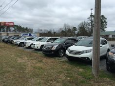 We've got a ton of mid-size SUV's