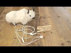Tangled earbuds are nobody\'s friend. With this clothespin tip from #eHowHacks, you can organize your cords and call it a wrap.  Produced By: Demand Media Video