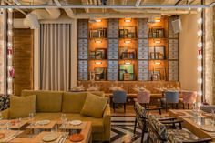 It's rare that we can't immediately spot the difference between a swanky hotel lobby and a restaurant, but this absolutely gorgeous spot in Madrid has us doing a double take. Perrachica isn't your average brunch haunt, instead...