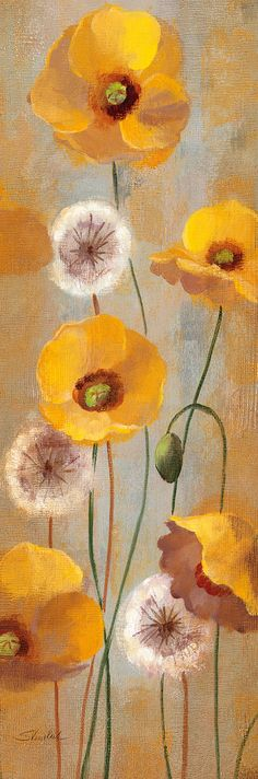 Masterpiece Art - Spring Poppies I, $29.30 (http://www.masterpieceart.com.au/spring-poppies-i/)