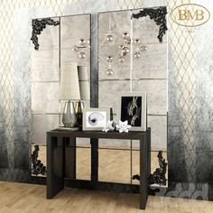 BMB Italy mirror and console
