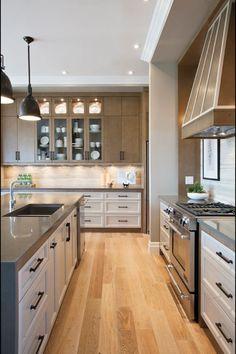 Atmosphere Interior Design (Saskatoon SK) - Contemporary Kitchen Two Tone