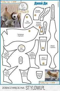 szablon szycie pies - Szukaj w Google