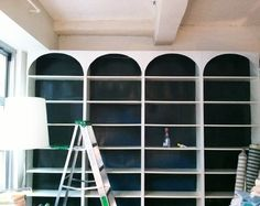 DIY Arched Bookshelv...