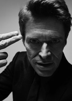 """Willem Dafoe - such a good actor ...  If you haven't seen """"Shadow of the Vampire"""" .. you're missing a very cool movie.  My favorite line in the movie .. """"I vant makeup!"""""""
