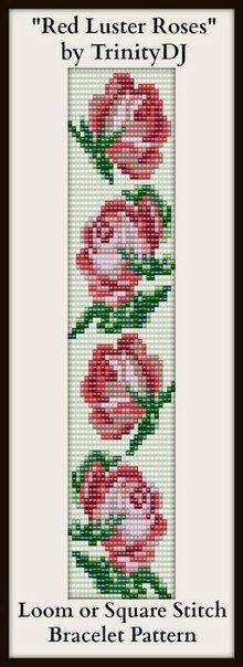Схемы прямого плетения(ткачество)