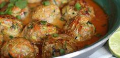 PaleOMG – Paleo Recipes – Thai Pork & Veggie Meatballs