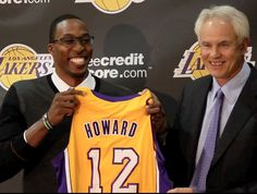 Dwight Howard goes to the LA Lakers!