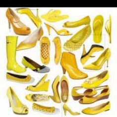 Yellow shoes yellow shoes!!