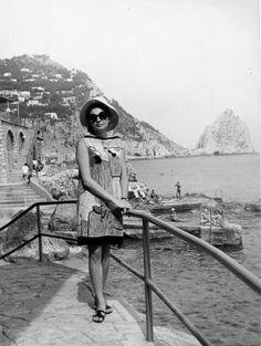 Soraya, 1966 in marina grande capri