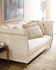 """Samantha"" Sofa by Haute House at Horchow."