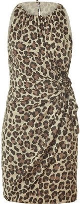 ShopStyle: Moschino C Classic Leopard Printed Dress