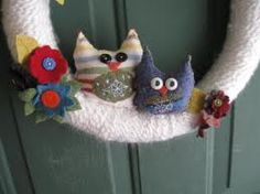 Crochet wreath - Google-Suche