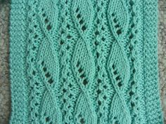 Free Pattern: Lace and Sails Scarf by Sue Fischer