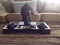 Decor Tea Light Candle / Zen Garden Buddha Decoration Feng Shui Incense Holder