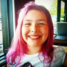 Pink and Purple hair - summer 2014