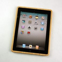 INFMETRY:: iPad 2 Bamboo Case - Electronics