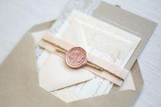 Wax seal inside envelope!
