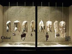 """MadeWithLove"",from Chloé at Harrods London England, pinned by Ton van der Veer #window #display"