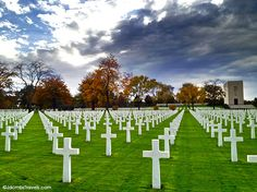 Lorraine American WWII Cemetery and Memorial covers 113.5 acres, enough said.