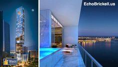 O incrível #EchoBrickell já está em construção! Poucas unidades disponíveis a #Venda! Visite www.EchoBrickell.us/br