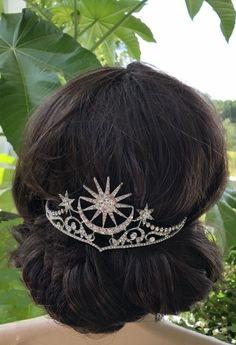 Starry Night Wedding, Moon Wedding, Celestial Wedding, Dream Wedding, Star Wedding, Wedding Veils, Gift Wedding, Wedding Dresses, Wedding Flowers