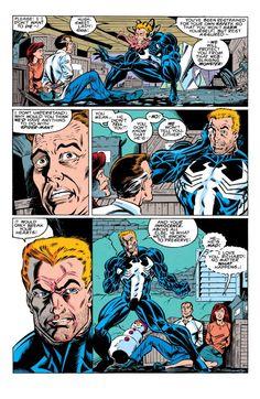 Amazing Spider-Man - Comics by comiXology Venom Comics, Marvel Dc Comics, Marvel Heroes, Comic Book Pages, Comic Books Art, Comic Art, Book Art, Hybrid Marvel, Eddie Brock Venom