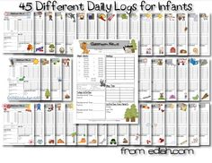 Daily Logs for day care reporting