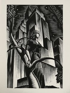 Lynd Ward - Wood Engraving for Alec Waughs Most Women... (1931) by Thomas Shahan 3, via Flickr