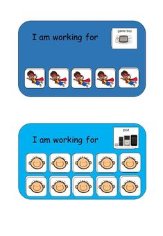 Behavior chart reward chart autism aid special education teacher i am working for reward system for students with autism visual reinforcement for students fandeluxe Gallery