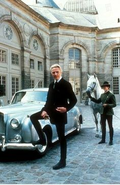 "Christopher Walken. Still from the James Bond movie ""A View to a Kill"""
