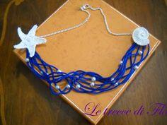 sea necklace crochet