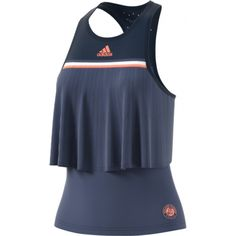Streetwear Stil Adidas Roland Garros Jacke Damen Indigo