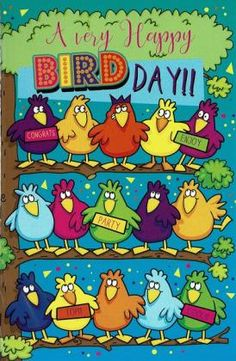 Happy BIRDDAY Happy Birthday Wishes, Bart Simpson, Man, Character, Paper Board, Happy Bday Wishes, Happy Birthday Greetings, Lettering, Birthday Wishes Greetings