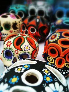 Calacas, Mercado de Artesanías de San Angel, México