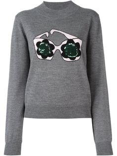 MARKUS LUPFER sequined sweatshirt. #markuslupfer #cloth #sweatshirt