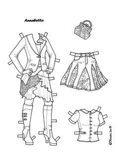 Karen`s Paper Dolls: Lady