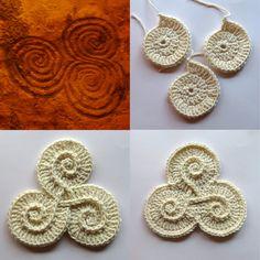 crochet spirals