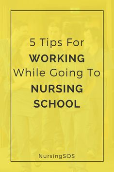 5 Tips For Working While Going To Nursing School. Is it possible to work during nursing school Hint: YES! Click through to find out how you can go to nursing school and work full time. Nursing School Scholarships, Nursing School Tips, Nursing Jobs, Nursing Students, Nursing Classes, Lpn Classes, Student Nurse, Lpn Schools, Online Nursing Schools