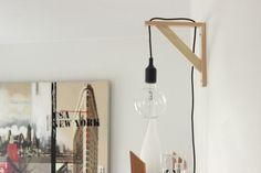 DIY lampadaire dint