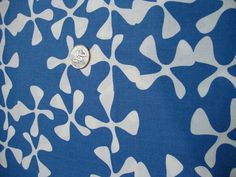 This modern sphere pattern on a blue background is part of Moda's Sphere quilting fabric line.