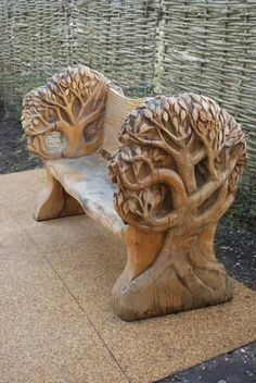 Unique Wood Carving Furniture for Your Home Decoration. Before entering the discussion I will provide an explanation of the benefits that are obtained when a person makes the . Unique Wood Furniture, Trunk Furniture, Driftwood Sculpture, Tree Sculpture, Chainsaw Wood Carving, Chip Carving, Wood Art, Wood Crafts, Creations