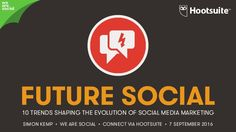 The social media landscape is changing so fast that most marketers struggle to keep up. To make things easier, we've distilled the many conversations we've bee… Social Media Landscape, Le Social, Brand Promotion, Case Study, Social Media Marketing, Evolution, Fails, Insight, How To Plan