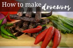 When talking about South African food tradition droëwors is one of the first things that springs to mind. Making your own droëwors could be challenging.